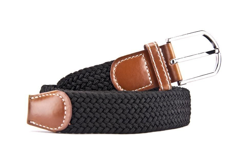 Belts From OZ - stretch black