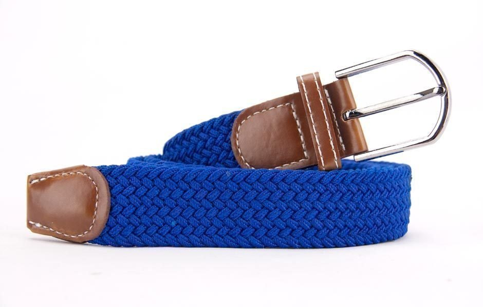 Belts From OZ - stretch blue